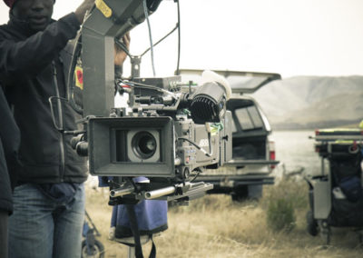 Arri Alexa on the jib